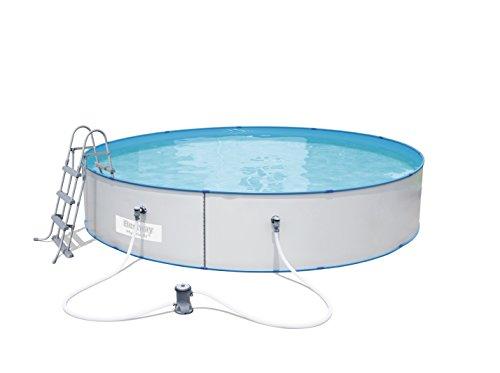 Bestway Hydrium Splasher Pool-Set 460x90cm mit Filterpumpe + Zubehör