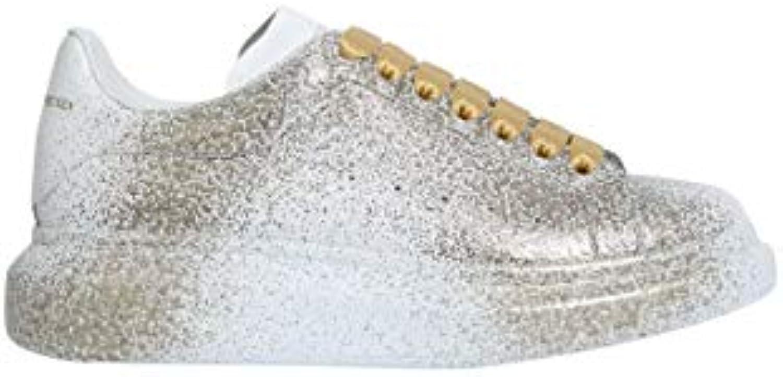 Alexander McQueen scarpe scarpe scarpe da ginnastica Uomo 535187Whqyx9075 Pelle Bianco | Vogue  2c08f7
