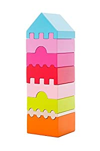 Cubika 11339Juguete, Madera Juguete, Toys, Juguete para Ladrillos, holzbausteine, Después De motricidad, Juguete, Multicolor