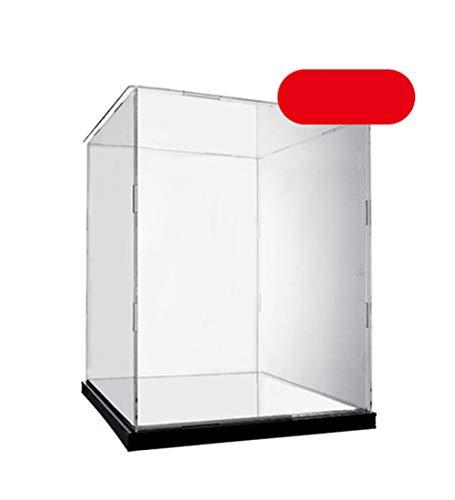 YUDEYU Acryl Anzeigefeld Hohe Transparenz Zusammengebaut Modellabdeckung Puppe Staubbox (größe : 19#/30x20x40cm) (Besen-puppe)