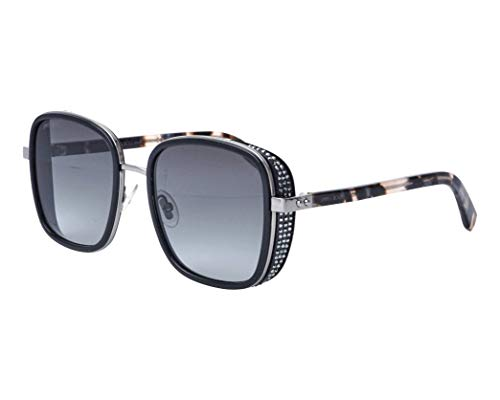 Jimmy Choo Sonnenbrillen (ELVA-S 80790) schwarz - gun metall - blau-grau verlaufend