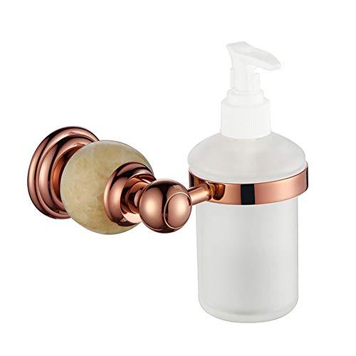 Vintage Jade manuelle Seifenspender, Hotel Toilette an der Wand montierte Pumpe zur Hand Desinfektionsmittel Flasche, Haushalt Badezimmer Shampoo Duschgel Unterflasche Startseite Kupfer Badezimmer Har