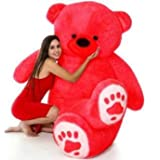 OS Retail Gint Teddy Bear Big and Beautiful Gint Teddy Bear New Launched (Red, 2.5 Feet)