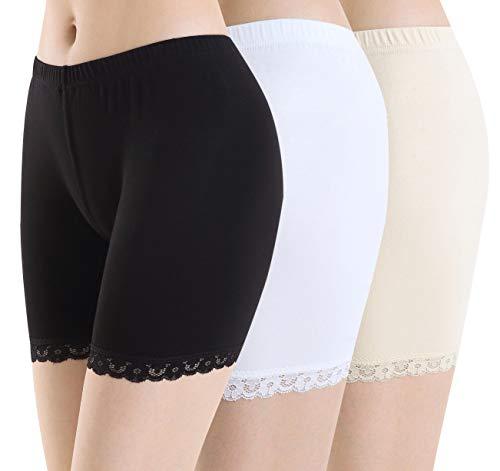 Ferrieswheel Story Leicht Kurze Hose Damen Leggings Unter Rock Shorts - Pilates Yoga Fitness Gym