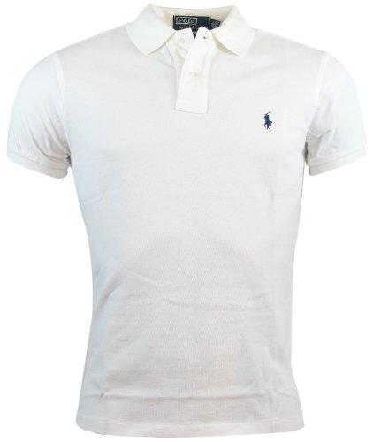 Ralph Lauren Herren Poloshirt Gr. L, weiß