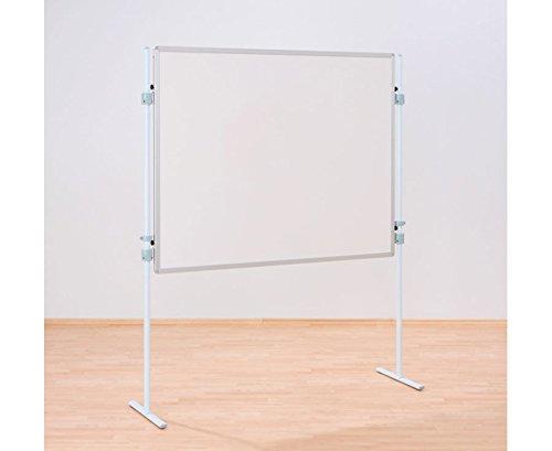 Betzold 79415 - Einhängetafel Tafeloberfläche weiß - Mobile Schultafel, Whiteboard, Beistelltafel