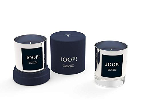 Engels Kerzen GmbH JOOP! Duftkerze in Geschenkbox Farbe Silver Silber Duft Fresh Cut Roses Aromakerze Samtbox Rosenduft