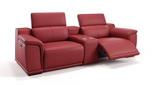 Heim Kinosofa Leder Sofagarnitur Relaxsofa Couch Couchgarnitur TV-Sofa Kinosessel