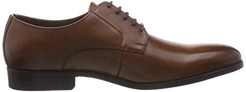 Clarks Banfield Walk, Chaussures de ville homme Marron (Tan Leather)