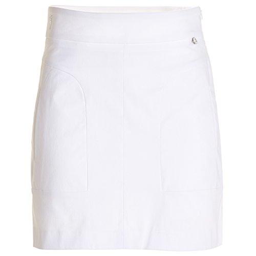 GOLFINO Damen Kurzer Golfrock aus Baumwoll-Stretch mit UV-Schutz in Comfortable Fit Test