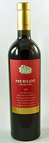 Merlot Sicilia IGT 2013 Trovati 6 Fl. Vorteilspack, trockener Rotwein aus Sizilien