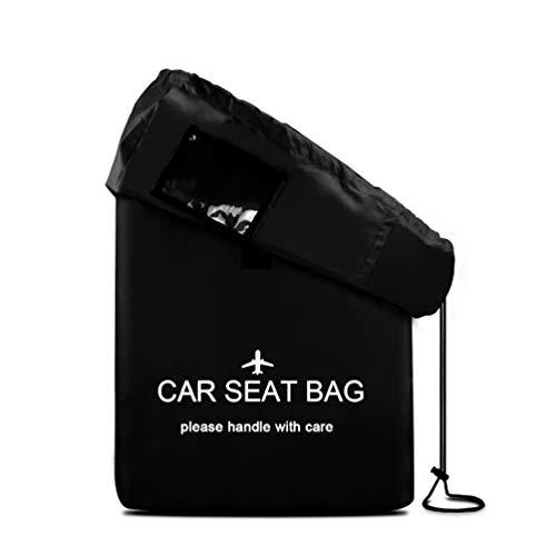 Pushchair Bag Water Resistant Car Seat Bag for Air Travel Stroller Bag with Padded Shoulder Straps Pram Transport Bag for Airplane Gate Check