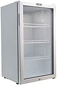 Mini Glass Door Fridge YCC90G