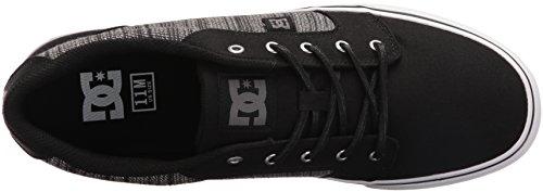 DC Shoes Anvil Tx Se M Shoe Chy, Scarpe da skateboard uomo Black/Grey