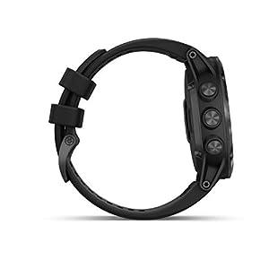 Garmin fēnix 5X Plus Orologio sportivo, Bluetooth, 240 x 240Pixel, Nero
