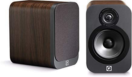 Q Acoustics 3020 Regallautsprecher walnuss