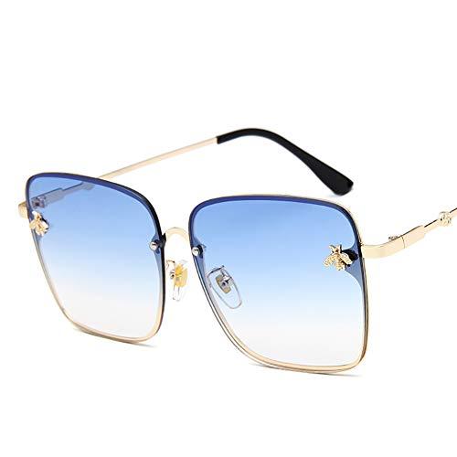 Huanxin Polarisierte Fahren Sonnenbrille 100% UV400-Schutz, Al-Mg Metall Rahme Ultra Leicht Sport-Sonnenbrille, für Frauen und Männer Radfahren Golf Angeln Laufen,b
