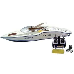 "30"" Rc Syma Century Boat Radio Remote Control R/C Racing Yacht With Display Stand - For Easy Control Jouets, Jeux, Enfant, Peu, Nourrisson"