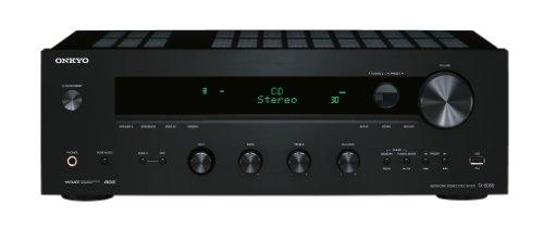 Onkyo TX-8050 Netzwerk-Stereoreceiver (Internet-Radio, DLNA, Apple iPod/iPhone kompatibel, 130 W/Kanal) schwarz -
