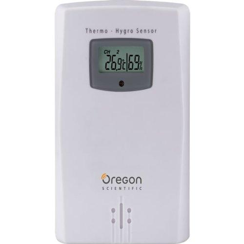 Galleria fotografica Oregon Scientific, THGR122NX, Sensore di temperatura e umidità, Bianco, 17,8 x 7,6 x 20,3 cm