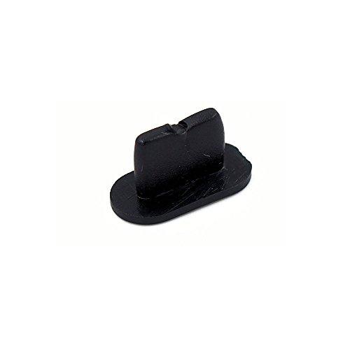 smartec24® Dock-Staubschutz für Apple iPhone 7 Plus schwarz Silikon Staubschutz Stöpsel für den Lightning Lade-Eingang (1x iPhone 7 Plus schwarz)