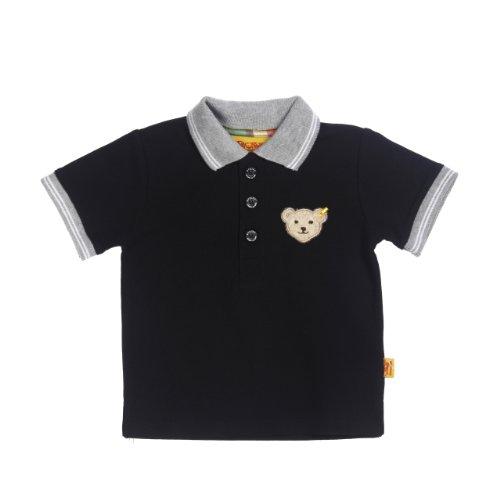 Steiff Baby - Jungen T-Shirt 6313701, Gr. 68, Blau (marine)