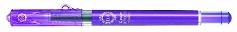 Pilot Maica Gel Microtip Rollerball 0.4 mm - Violet, Box of 12