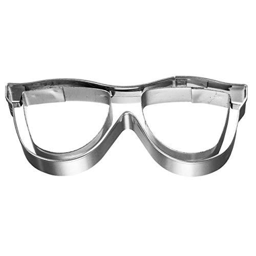 Birkmann 1010721810 Ausstechform Sonnenbrille, 8 cm, Kunststoff, Grau, 5 x 3 x 2 cm