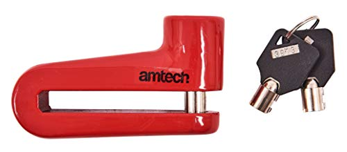 Amtech T1850 Blocco Cavo di Sicurezza, 1 m X 25 mm