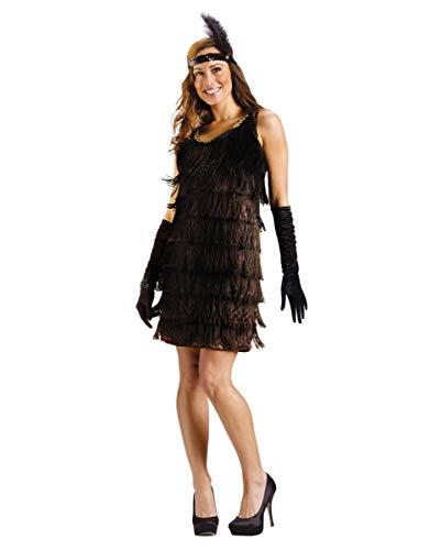 Baker Josephine Kostüm - Horror-Shop Charleston Flapper Girl Kostüm SM