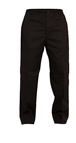 Mens Elastic Waist 32 – 60 inch Rugby Trousers Comfort Casual Pants Lounge Bottoms Black Navy Grey Beige Blue Grey Fully Elasticated Draw Strings Extra Short Regular Long 27 29 31