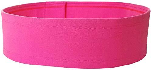Huaheng 1 Pezzi Seno Supporto Fascia Anti Bounce Regolabile Stabile Torace Avvolgere Cintura Yoga Sports - Rosa, S