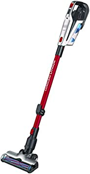 Black+Decker 21.6V 3-in-1 Cordless Stick Vacuum, Red - BHFE620J-GB