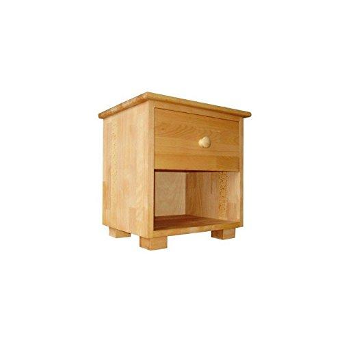 Nachttisch, Beistelltisch aus Massivholz Buche Geölt, Nachtkommode, Nachtschrank, Nachtkonsole, Echtes Holz