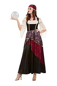 Smiffys 50953S - Disfraz de Fortune Teller para mujer, talla S, color negro