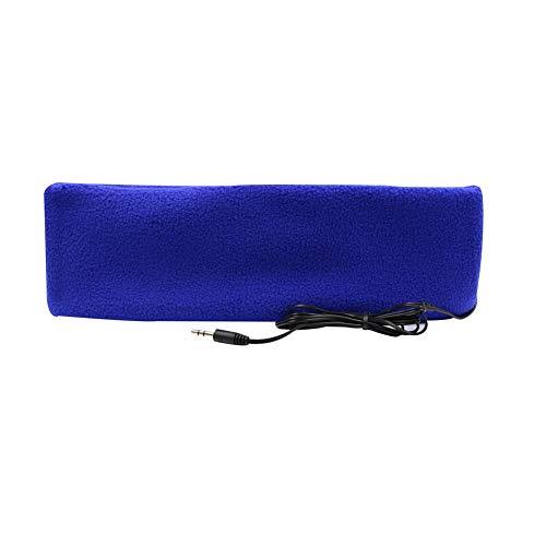 örer Stirnband Kopfhörer Ultra Dünn Kopfhörer die meisten Bequeme Kopfhörer für Schlafen Air Travel Workout Schlaflosigkeit, hellblau ()
