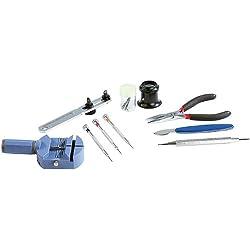 AGT Uhrmacherwerkzeug-Set, 9-teilig, Profi-Qualität