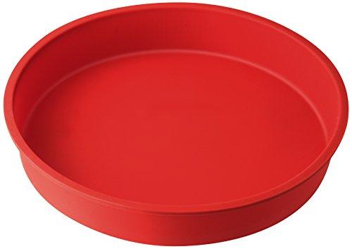 Dr. Oetker Rundform Ø 26 cm Flexxibel, Obstkuchenform aus Silikon, Tortenbodenform für eindrucksvolle Kreationen, hochwertige Silikon-Kuchenform, Menge: 1 Stück Backen Form