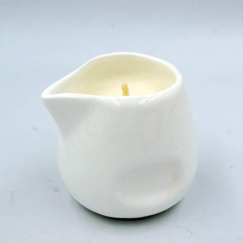 Soja-wachs-körper-massage-kerze (Ätherisches Öl Massage Sojaöl Haut Kerze Paare Natürlicher Duft Weiße Aromatherapie Europäische Badeatmosphäre Pflege Sicherheit SPA Geschenk SM Wachs für niedrige Temperaturen Verbrühungsschutz)