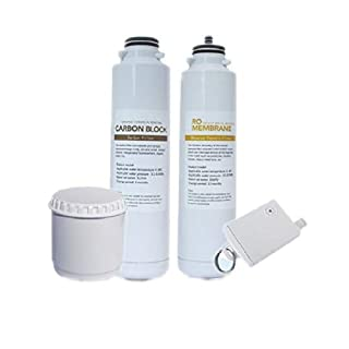 Osmio Zero Portable Reverse Osmosis Replacement Filters Pack