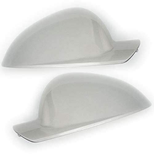 Underground Parts VX-IN Sovereign Spiegelkappen für Tür, Links und rechts, silberfarben, 1 Paar