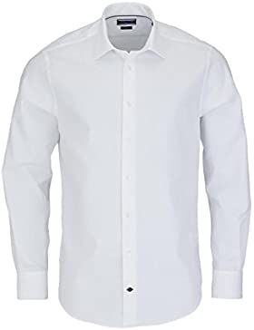 TOMMY TAILORED Hemd extra langer Arm Oxford weiß AL 70