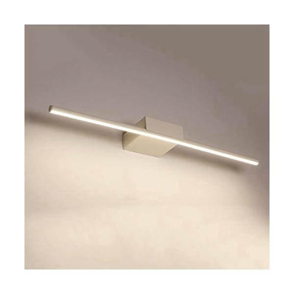 BiuTeFang LED Lámpara de Espejo Baño led de iluminación con Espejo Faro para baño nórdico de Maquillaje con luz de…