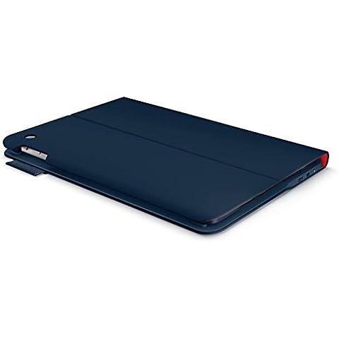 Logitech Ultrathin Keyboard Folio f/ iPad Air - fundas para tablets (Folio, Marina, 24,64 cm (9.7