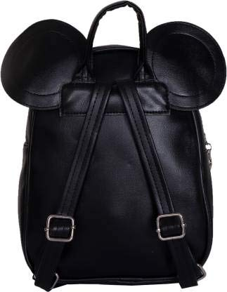 Bizarre Vogue Cute Small College Bag Bow Style Backpack for Girls (Black,BV1217) Image 5