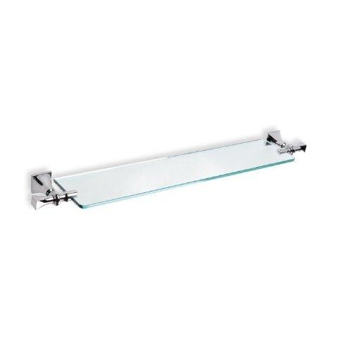 Preisvergleich Produktbild nameeks PR04–08 montiert ClassicStyle klar Glas Badezimmer Regal,  Chrom