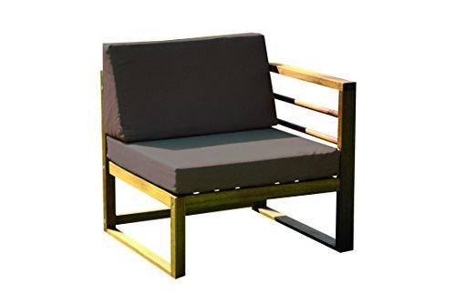 Consul Garden 665043 - Conjunto de muebles de patio Brisbane