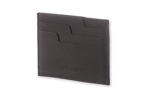 Moleskine Lineage - Tarjetero en piel, color negro