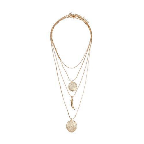 ad7f28203c1d Parfois - Collar Basics GD - Mujeres - Tallas Única - Dorado
