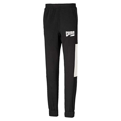 PUMA Jungen Rebel Block Sweat Pants TR cl B Jogging Black, 140